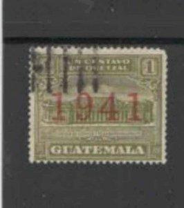 GUATEMALA #RA16 1941 POSTAL TAX F-VF USED c