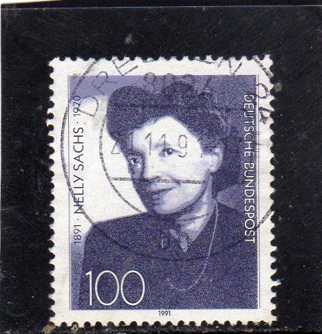 German Nelly Sachs used