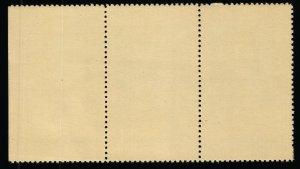 Rotary Club 4-Way Test Motto stamp - Strip of 3 - MNH - 1946