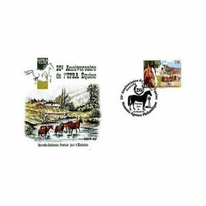 NEW CALEDONIA/2018 - (FDC) 20TH ANN. OF UPRA EQUINE NEW-CALEDONIA (HORSE), MNH