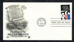 2421 Bill of Rights Unaddressed ArtCraft FDC