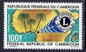Cameroun, Scott #C142; Lions International, MNH