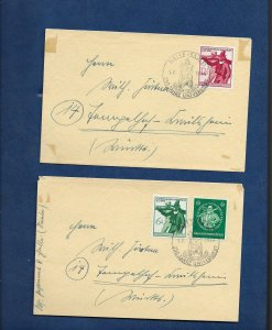 GERMANY 1944 TYROL COVERS
