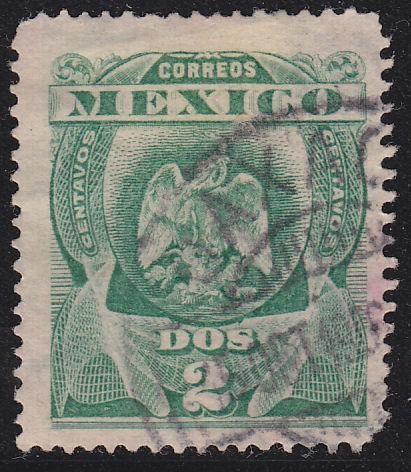 Mexico 305 Hinged Used 1903 Coat of Arms