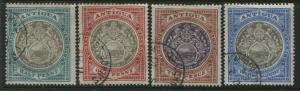 Antigua 1903 1/2d to 2 1/2d used