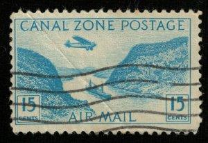 1931-1949, Gaillard Cut, Canal Zone postage, 15c, MC #88 (RТ-1276)