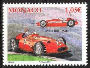 Monaco 2013 Racing Cars Maserati MNH**