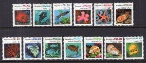 Palau 9-21 Marine Life MNH VF