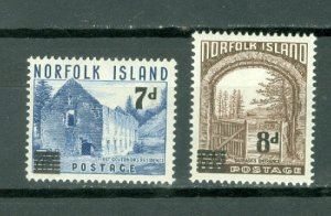 NORFOLK LANDSCAPE  #21-22...SET...MNH...$3.00