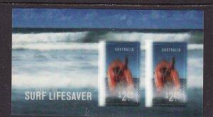 Australia-Sc#2641a-unused NH sheet-Surf Life Saving-2007-