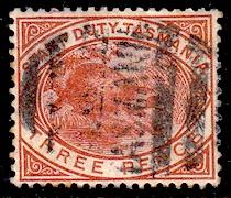 Tasmania #AR 25, Revenue, used