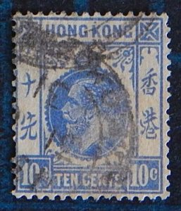 Hong Kong, 1912, King George V of the United Kingdom, (2413-Т)