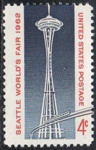 United States 1196 - Mint-NH - Space Needle (1962)