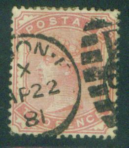 Great Britain Scott 81 1880 Queen Victoia CV$90