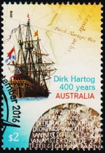Australia. 2016 $2 Fine Used