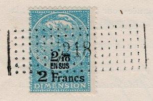 (I.B) France Revenue : Dimension 2Fr 2/10 (complete document)