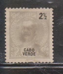 CAPE VERDE Scott # 36 Used - Small Tear