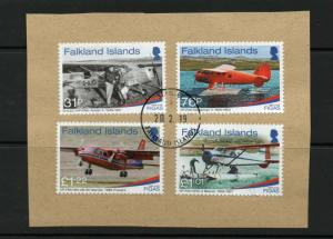 FALKLAND ISLANDS FIGA 2018 Aircraft issue used.