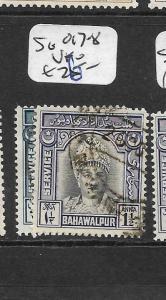 PAKISTAN BAHAWALPUR (P2702B)  SG O17-8  VFU