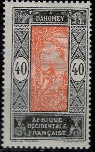 Dahomey 1913: Sc. # 62; **/MNH Single Stamp