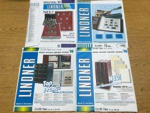 1997-2000 Palau Linder Hingeless Stamp Album Supplements Pages