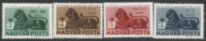 HUNGARY B188-91 MNH Q508-2