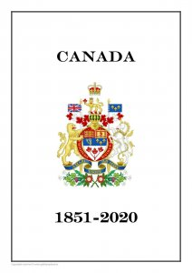 CANADA 1851 - 2020  PDF (DIGITAL) STAMP  ALBUM PAGES (being updated)