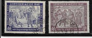 Germany-DDR #10NB1-10NB2  set (U) CV$1.40