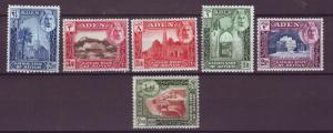 J20865 Jlstamps 1942 aden-seiyun hv,s set mh #6-11 views
