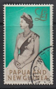 PAPUA NEW GUINEA, Scott 163, used