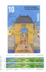 Canada - 1995 Fortress of Louisbourg Booklet #BK175b