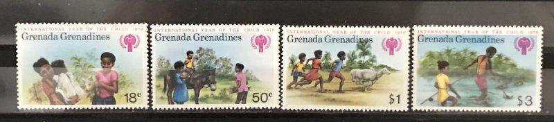 Grenada Grenadines1979 #318-21, MNH, CV $1.50