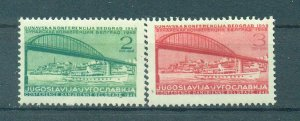Yugoslavia  sc# 239-242 mh cat value $10.00