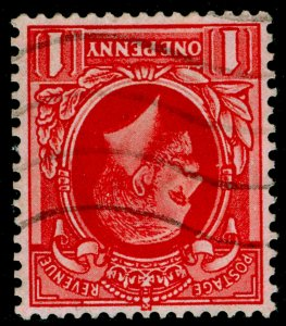 SG440Wi SPEC N49(2)a, 1d bright scarlet, FINE USED. Cat £15. WMK INVERTED.