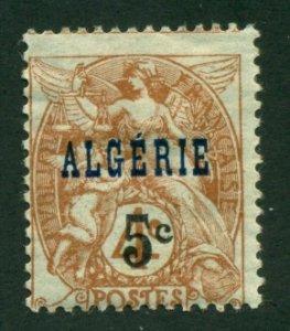 Algeria 1927 #75 MH SCV (2020) = $0.40