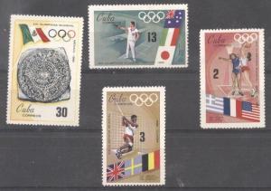 Cuba 1968 Sport, Olympics, MNH   M.321