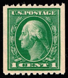 US STAMP #441 1c 1914 Coil STAMP MNH/OG SUPERB JUMBO