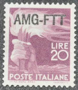 DYNAMITE Stamps: Trieste Scott #11 - UNUSED