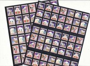 2015 U.S. Christmas Seals National Sheet Collection