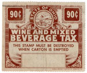 (I.B) US Revenue : Wine & Mixed Beverage Tax 90c (Ohio)