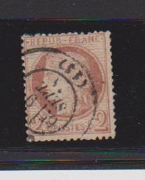 FRANCE #51 STAMP USED LOT#F4
