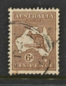 STAMP STATION PERTH Australia #96 Kangaroo FU Wmk.203 CV$13.00