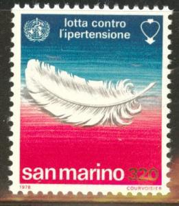 San Marino Scott 926 MNH** 1978 stamp