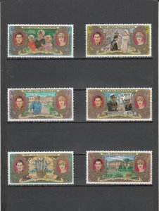 CENTRAL AFRICAN REPUBLIC 466-469 + C251-C252 MNH 2014 SCOTT CAT VALUE $6.65
