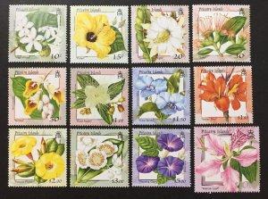 Pitcairn Islands 2000 #512-23, Flowers/London Stamp Show, MNH, CV $28.