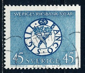 Sweden #778 Single Used