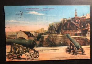 1930 Quebec Canada Picture Postcard Cover to Payne OH USA the Remparts