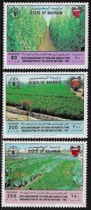 Bahrain #450-2 MNH Set - FAO Anniversary