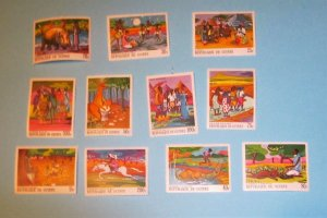 Guinea - 504-511, MNH Set. The Storyteller. SCV - $12.85
