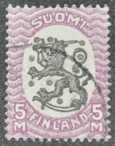 DYNAMITE Stamps: Finland Scott #150 - USED